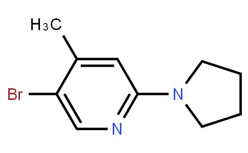 5-Bromo-4-Methyl-2-(Pyrrolidin-1-Yl)Pyridine