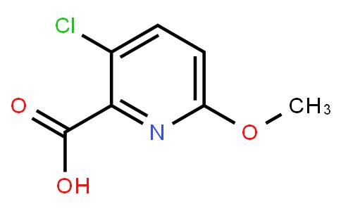 3-Chloro-6-Methoxypyridine-2-Carboxylic Acid
