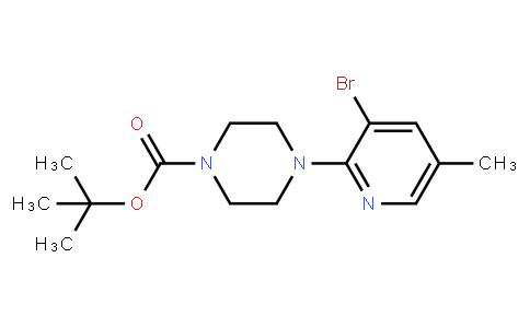 AM11630 | 1187386-02-2 | 2-(4-Boc-Piperazino)-3-Bromo-5-Methylpyridine