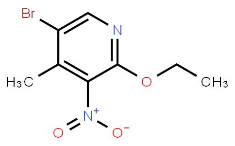 5-Bromo-2-Ethoxy-4-Methyl-3-Nitropyridine