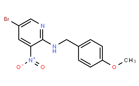 AM11647 | 1033202-35-5 | 5-Bromo-N-(4-Methoxybenzyl)-3-Nitropyridin-2-Amine