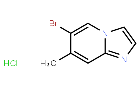 6-Bromo-7-Methylimidazo[1,2-A]Pyridine Hcl