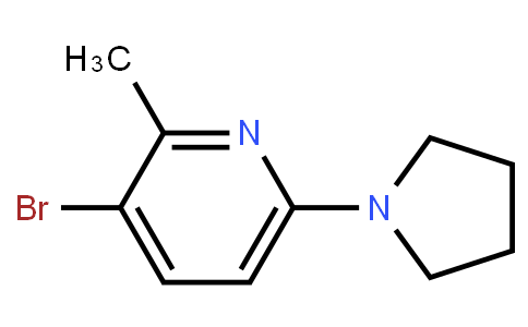 3-Bromo-2-Methyl-6-(Pyrrolidin-1-Yl)Pyridine