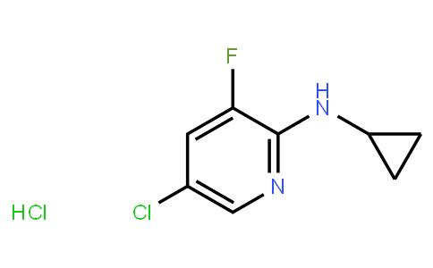 AM11672 | 1073372-09-4 | 5-Chloro-2-Cyclopropylamino-3-Fluoropyridine Hcl