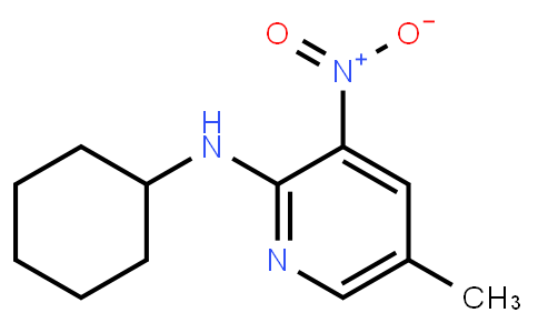 2-Cyclohexylamino-5-Methyl-3-Nitropyridine