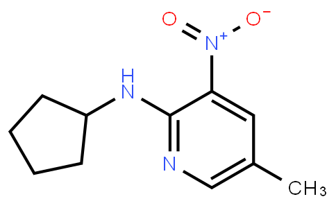 AM11675 | 1033202-29-7 | 2-Cyclopentylamino-5-Methyl-3-Nitropyridine