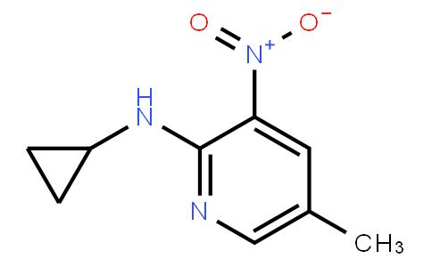 2-Cyclopropylamino-5-Methyl-3-Nitropyridine