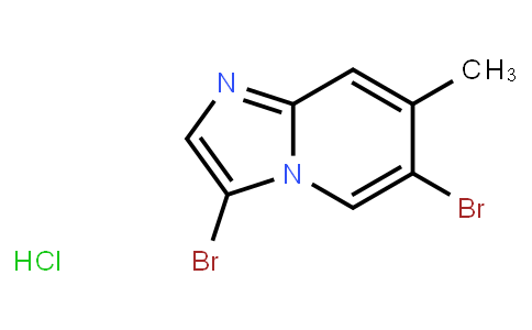 AM11681 | 1072944-65-0 | 3,6-Dibromo-7-Methylimidazo[1,2-A]Pyridine Hcl