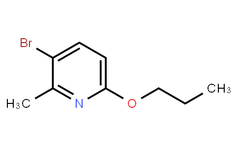 AM11744 | 1280786-78-8 | 3-Bromo-2-Methyl-6-Propoxypyridine
