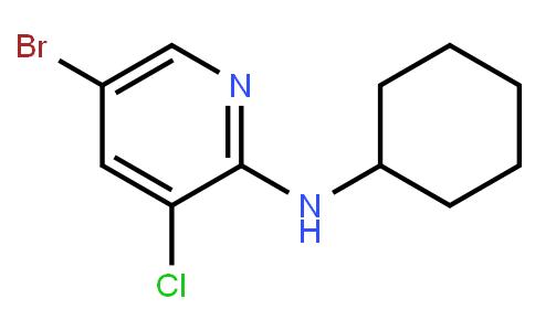 5-Bromo-3-Chloro-2-Cyclohexylaminopyridine