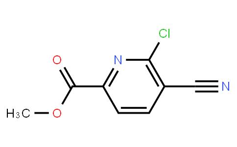methyl 6-chloro-5-cyanopyridine-2-carboxylate