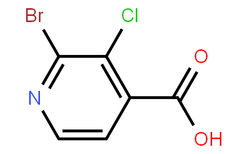 AM11757 | 1214377-39-5 | 2-Bromo-3-chloro-4-pyridinecarboxylic acid
