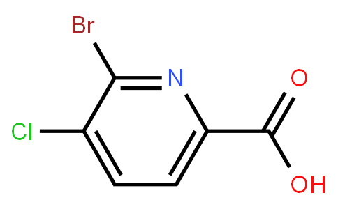 AM11758 | 1214328-42-3 | 2-Bromo-3-chloro-6-pyridinecarboxylic acid
