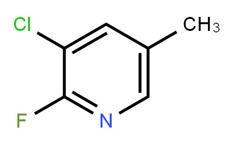 3-Chloro-2-Fluoro-5-Methylpyridine
