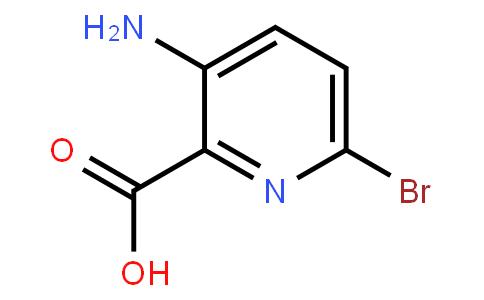 AM11772 | 1052708-46-9 | 3-Amino-6-bromopyridine-2-Carboxylicacid