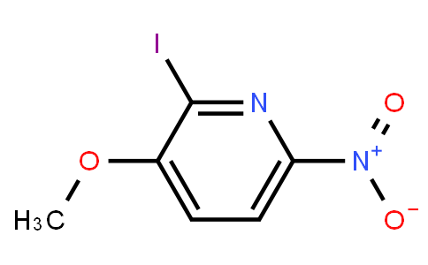 2-iodo-3-methoxy-6-nitropyridine