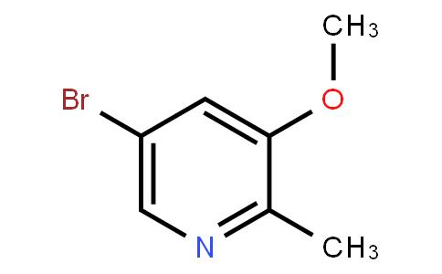 5-Bromo-3-methoxy-2-methylpyridine