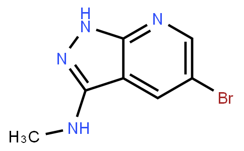 3-Methylamino-5-bromo-1H-pyrazolo[3,4-b]pyridine
