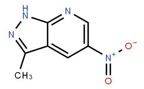 3-Methyl-5-Nitro-1H-Pyrazolo[3,4-b]pyridine