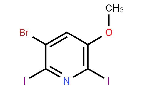 AM11835 | 1040682-61-8 | 3-Bromo-2,6-diiodo-5-methoxypyridine