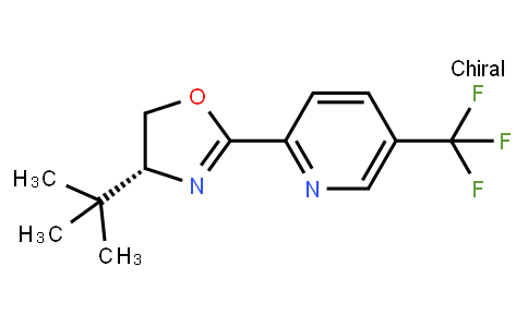 AM11903 | 1428537-19-2 | 2-[(4R)-4-tert-Butyl-4,5-dihydro-2-oxazolyl]-5-(trifluoromethyl)pyridine
