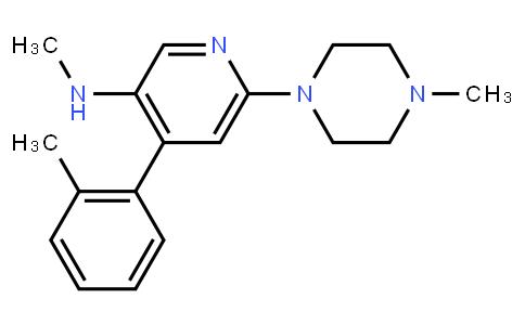 AM11943 | 290297-25-5 | N-methyl-6-(4-methylpiperazin-1-yl)-4-(o-tolyl)pyridin-3-amine