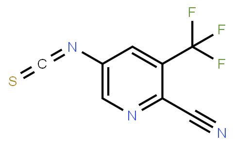 5-isothiocyanato-3-(trifluoromethyl)picolinonitrile