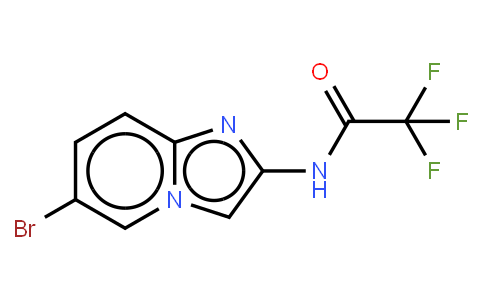 N-(6-bromoH-imidazo[1,2-a]pyridin-2-yl)-2,2,2-trifluoroacetamide
