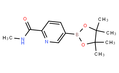 AM12033 | 885326-88-5 | N-Methyl-5-(4,4,5,5-tetramethyl-1,3,2-dioxaborolan-2-yl)picolinamide