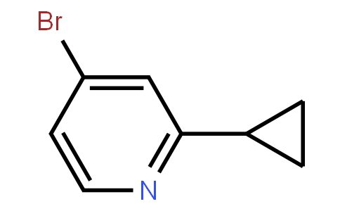 4-BroMo-2-(cyclopropyl)pyridine
