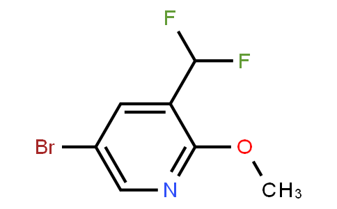 AM12055 | 1254123-51-7 | 5-bromo-3-(difluoromethyl)-2-methoxypyridine