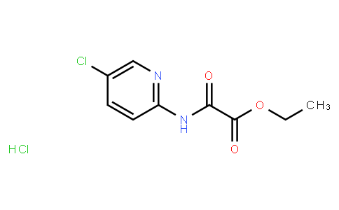 Ethyl 2-((5-chloropyridin-2-yl)amino)-2-oxoacetate hydrochloride