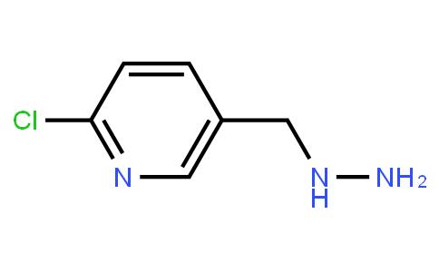 2-chloro-5-(hydrazinylmethyl)pyridine