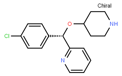 AM12105 | 201594-84-5 | (S)-2-[(4-Chlorophenyl)(4-piperidinyloxy)methyl]pyridine