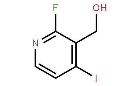 2-Fluoro-3-(hydroxymethyl)-4-iodopyridine