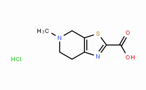 5-Methyl-4,5,6,7-tetrahydrothiazolo[5,4-c]pyridine-2-carboxylic acid hydrochloride