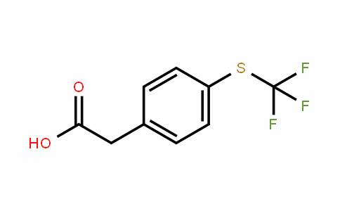 4-(三氟甲硫基)苯基乙酸