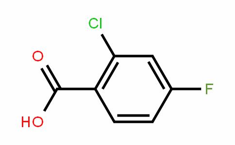 2-Chloro-4-fluorobenzoic acid