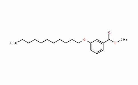 Methyl 3-n-undecyloxybenzoate