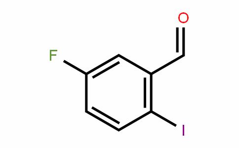 5-氟-2-碘苯甲醛