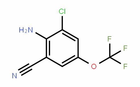 2-Amino-3-chloro-5-(trifluoromethoxy)benzonitrile