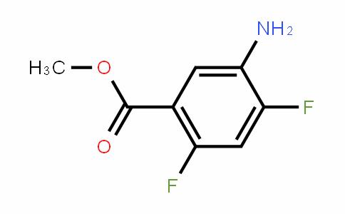 Methyl 5-amino-2,4-difluorobenzoate