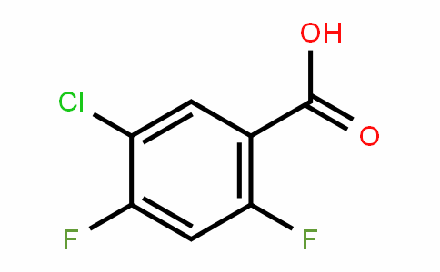 5-Chloro-2,4-difluorobenzoic acid