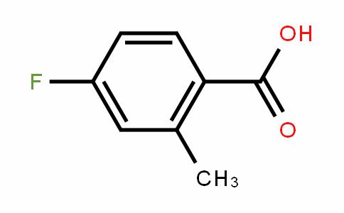 4-Fluoro-2-methylbenzoic acid