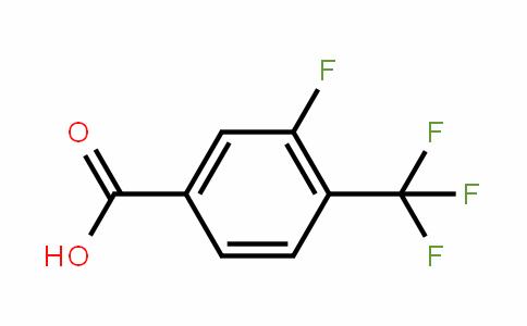 3-Fluoro-4-(trifluoromethyl)benzoic acid