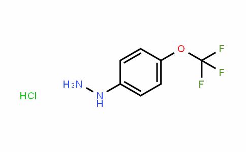 4-(Trifluoromethoxy)phenylhydrazine hydrochloride