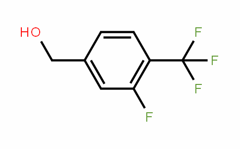 4-Trifluoromethyl-3-fluorobenzyl alcohol