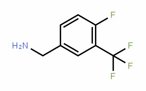 4-Fluoro-3-(trifluoromethyl)benzyl amine