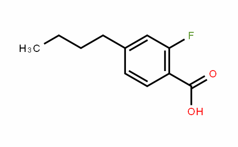 4-n-Butyl-2-fluorobenzoic acid