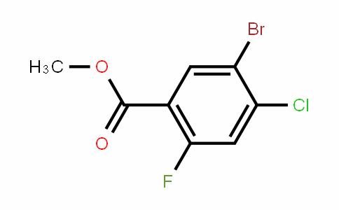 Methyl 5-bromo-4-chloro-2-fluorobenzoate